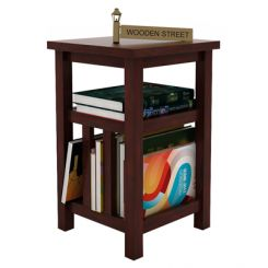 Alden Magazine Rack (Mahogany Finish)