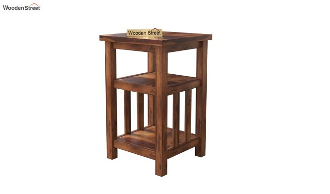 Alden Magazine Rack (Teak Finish)-2