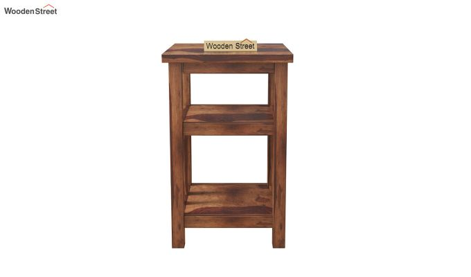 Alden Magazine Rack (Teak Finish)-3