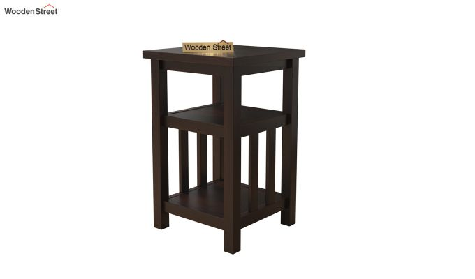 Alden Magazine Rack (Walnut Finish)-2