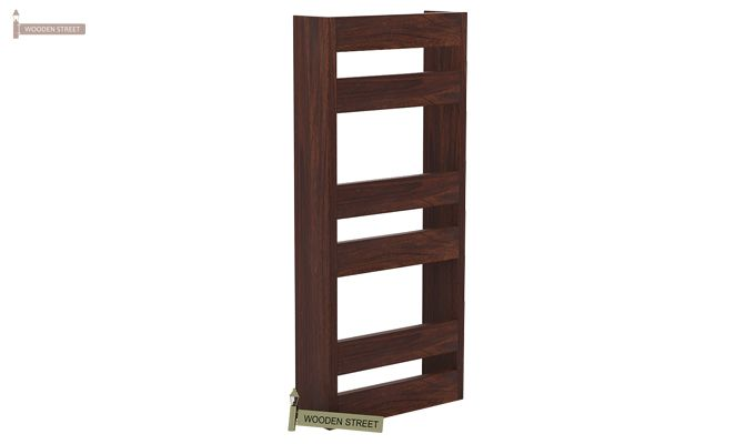 Alnus Magazine Rack (Walnut Finish)-3