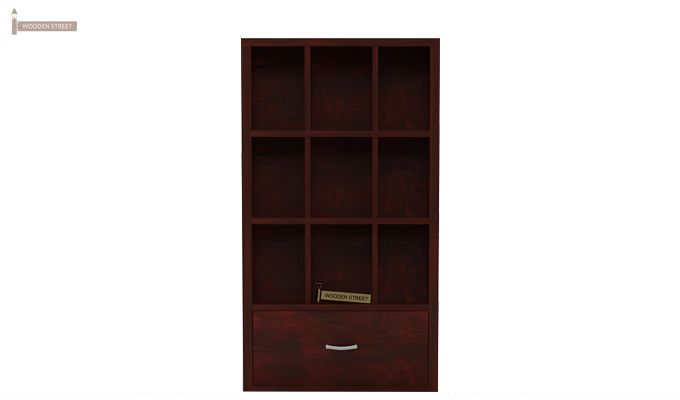 Baker Magazine Rack (Mahogany Finish)-5