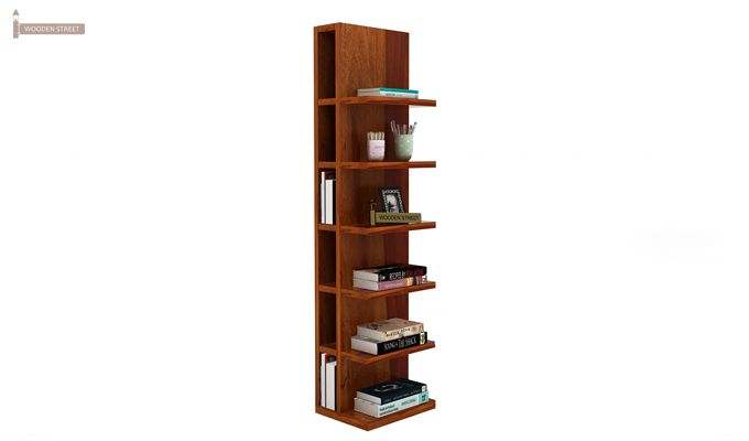 Brin Magazine Rack (Honey Finish)-2