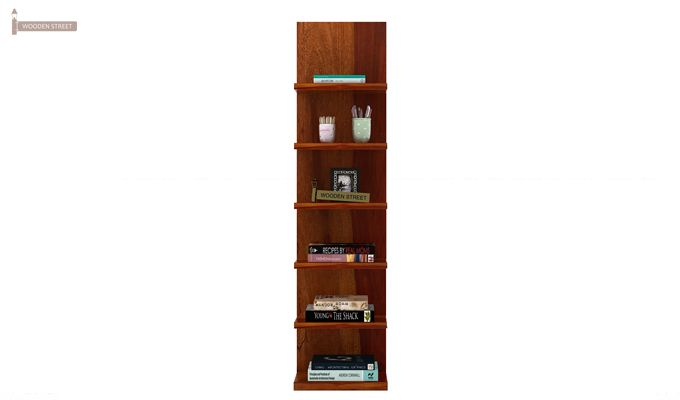 Brin Magazine Rack (Honey Finish)-3