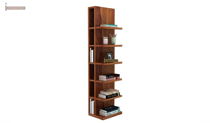 Brin Magazine Rack (Teak Finish)-1