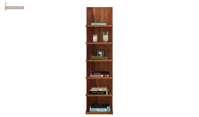 Brin Magazine Rack (Teak Finish)-2