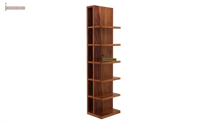 Brin Magazine Rack (Teak Finish)-4