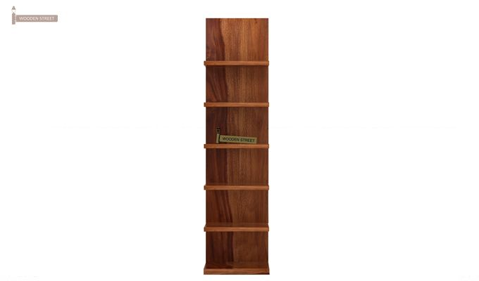 Brin Magazine Rack (Teak Finish)-5