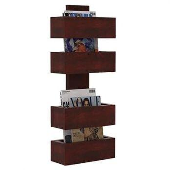 Buy Wooden Magazine Racks Online in India