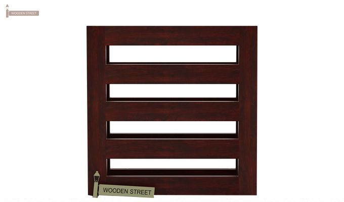 Davi Magazine Rack (Mahogany Finish)-4