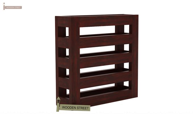 Davi Magazine Rack (Mahogany Finish)-3