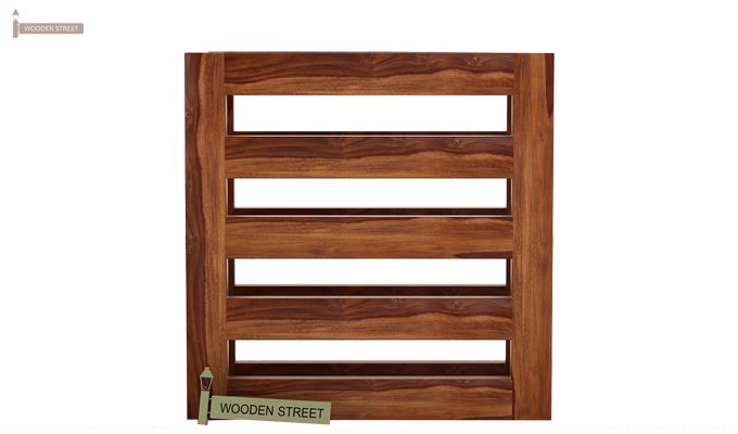 Davi Magazine Rack (Teak Finish)-4