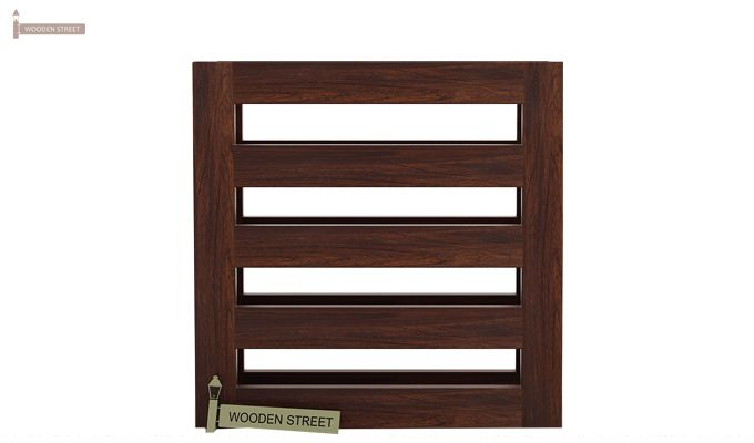 Davi Magazine Rack (Walnut Finish)-4