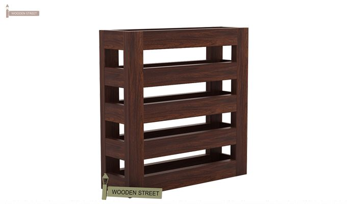 Davi Magazine Rack (Walnut Finish)-3