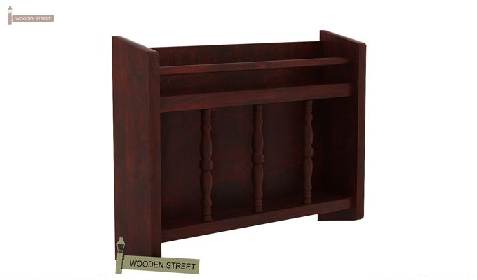 Espen Magazine Rack (Mahogany Finish)-3