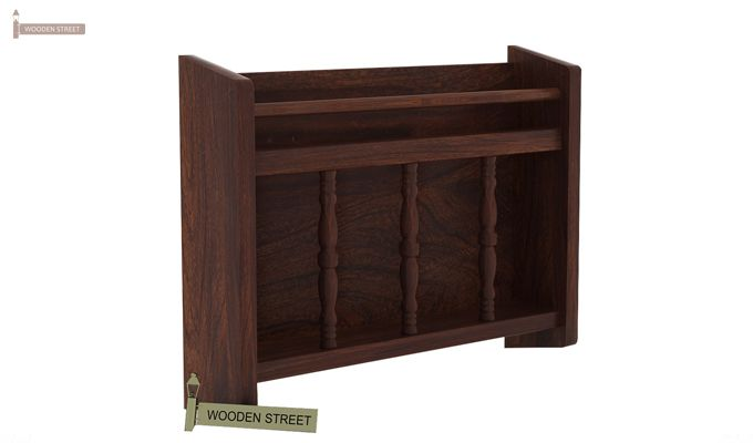 Espen Magazine Rack (Walnut Finish)-3