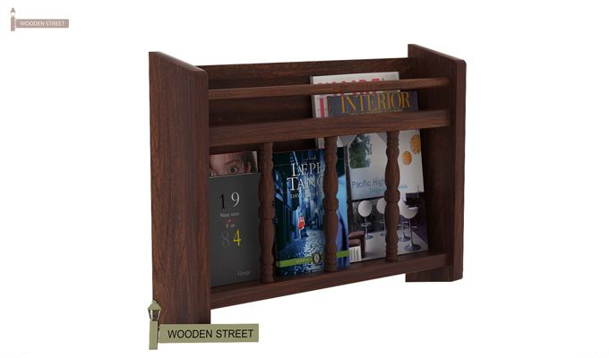 Espen Magazine Rack (Walnut Finish)-1