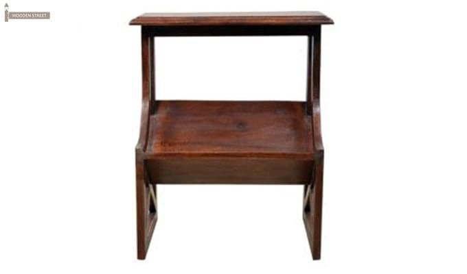 Farin Magazine Rack (Teak Finish)-2
