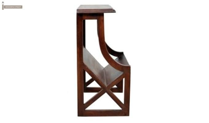 Farin Magazine Rack (Teak Finish)-3
