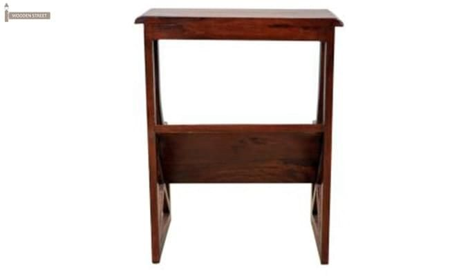 Farin Magazine Rack (Teak Finish)-6