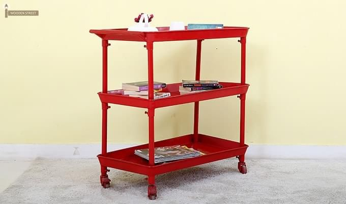 Fay Magazine Rack (Red)-1