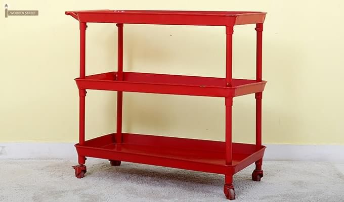 Fay Magazine Rack (Red)-4