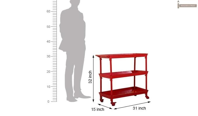 Fay Magazine Rack (Red)-5