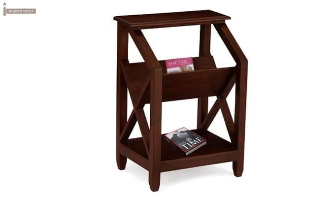 Gibson Magazine Rack (Walnut Finish)-1