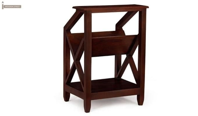Gibson Magazine Rack (Walnut Finish)-2
