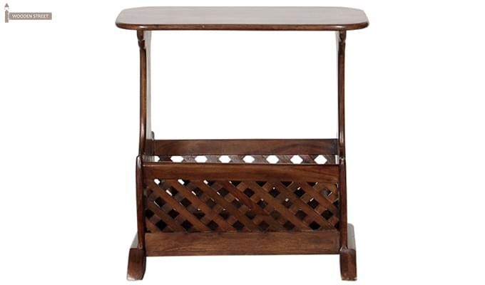 Glen Magazine Rack (Teak Finish)-3