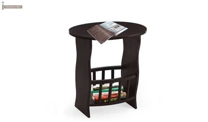 Kiwi Magazine Rack (Mahogany Finish)-1