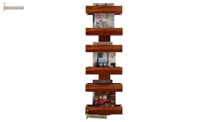 Prunus Magazine Rack (Honey Finish)-2