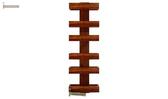Prunus Magazine Rack (Honey Finish)-4