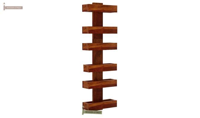 Prunus Magazine Rack (Honey Finish)-5