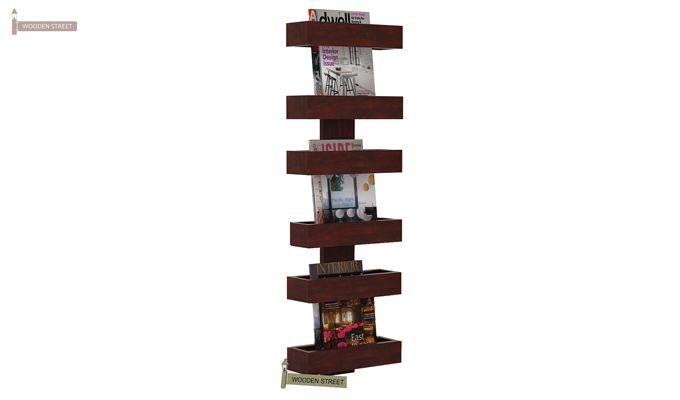 Prunus Magazine Rack (Mahogany Finish)-1