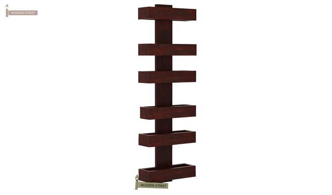 Prunus Magazine Rack (Mahogany Finish)-4