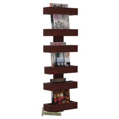 Prunus Magazine Rack (Mahogany Finish)