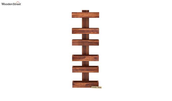 Prunus Magazine Rack (Honey Finish)-3