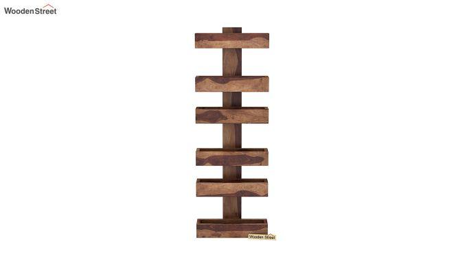 Prunus Magazine Rack (Teak Finish)-3