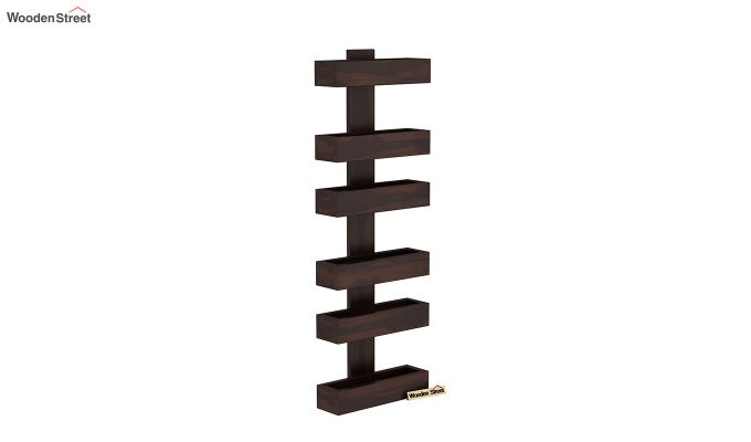 Prunus Magazine Rack (Walnut Finish)-2