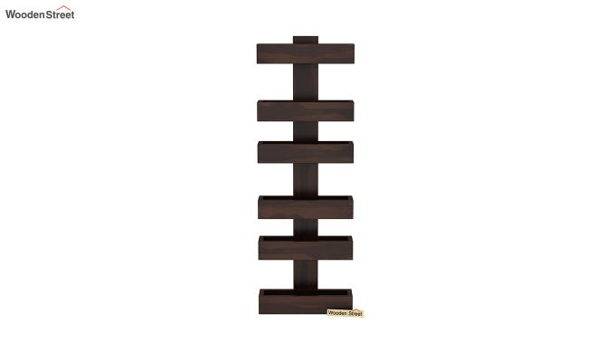 Prunus Magazine Rack (Walnut Finish)-3