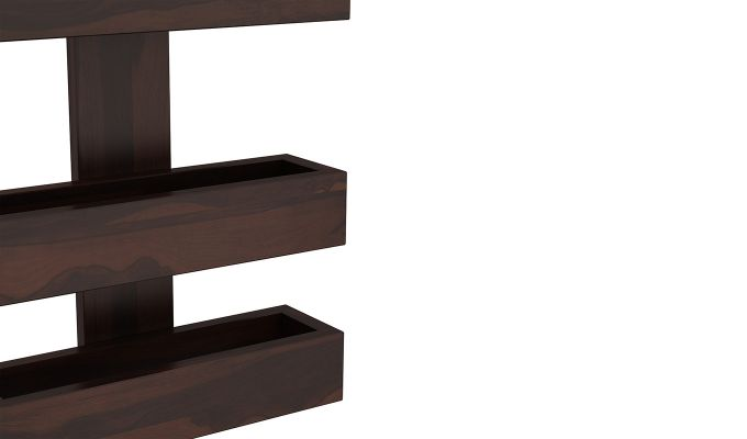 Prunus Magazine Rack (Walnut Finish)-4