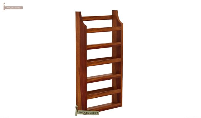 Sonja Magazine Rack (Honey Finish)-4