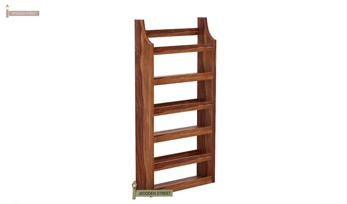 Sonja Magazine Rack (Teak Finish)-3