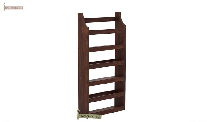Sonja Magazine Rack (Walnut Finish)-3