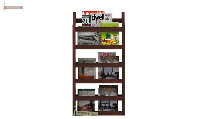 Sonja Magazine Rack (Walnut Finish)-2
