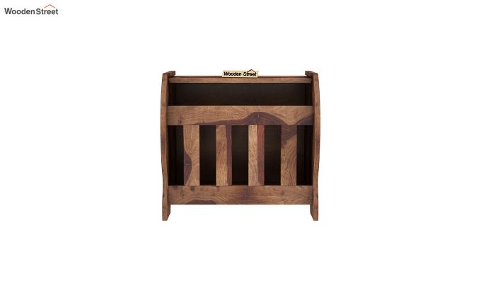 Xavier Magazine Rack (Teak Finish)-3