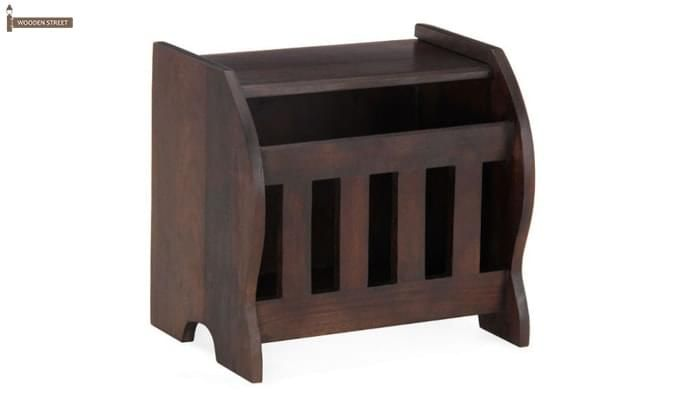 Xavier Magazine Rack (Mahogany Finish)-2