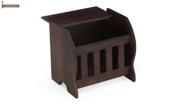 Xavier Magazine Rack (Mahogany Finish)-3