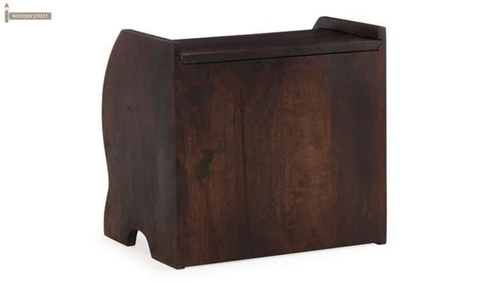 Xavier Magazine Rack (Mahogany Finish)-5